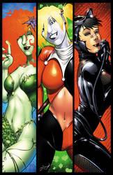 Gotham Girls by JoeAzpeytia