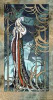 Wolf Princess Lunala by shadeykris