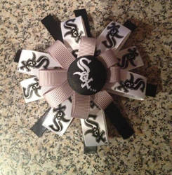 Chicago White Sox Barrette by Mikomi-Hatake