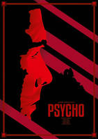 Alfred Hitchcock's Psycho Alternative Movie Poster by Lafar88