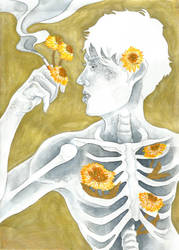 Glitter And Gold(en Dandelions) by LonesomeBookworm