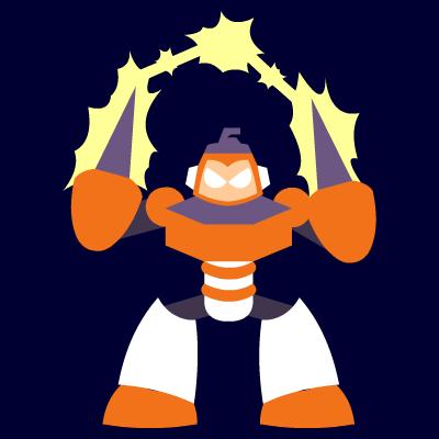 Rocktober #7: Spark Man by uguardian