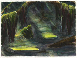 The thing in the swamp by gowa