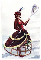 Queen watercolor by gowa