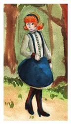 Alice watercolor by gowa