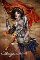 Joan d'Arc by AnjeanetteIllios