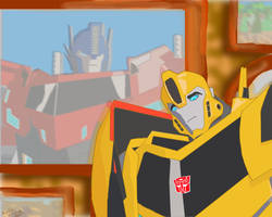 I Need You Optimus... by Bumble217