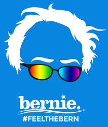 Bernie Rainbow by philliopublius
