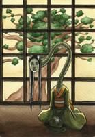 Rokuro-kubi by shadowzabimaru