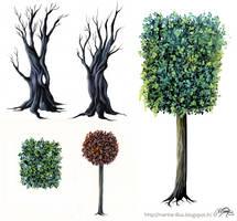Trees by MarineElphie