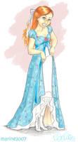 The loveliest dress ever by MarineElphie