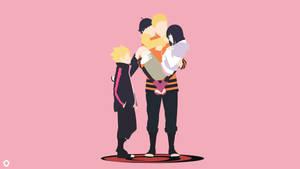 Uzumaki Family  Naruto Minimalist by Darkfate17
