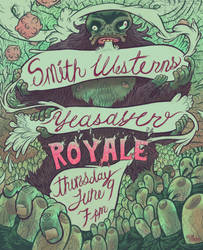 SW and Yeasayer Boston Poster by AerodynamicMountains