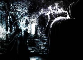 Wizards battle by Belegilgalad