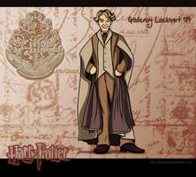 Gilderoy Lockhart by Belegilgalad