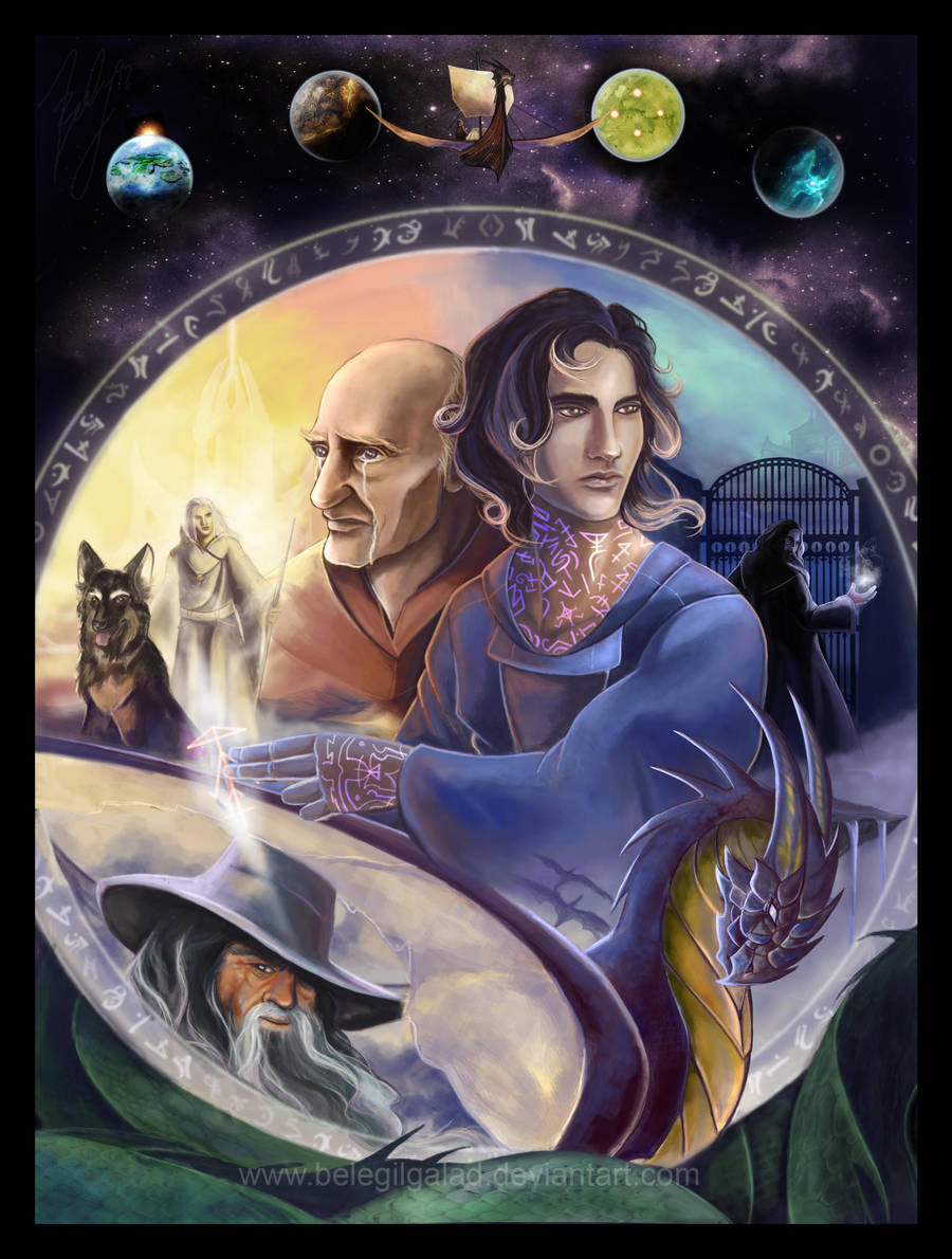 The Death Gate Cycle by Belegilgalad