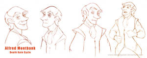Alfred Montbank- studio character by Belegilgalad