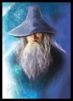 Gandalf the Grey by Belegilgalad