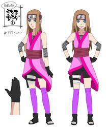 Uzumaki Haru ref. sheet (new design) by SayonaraEveryone