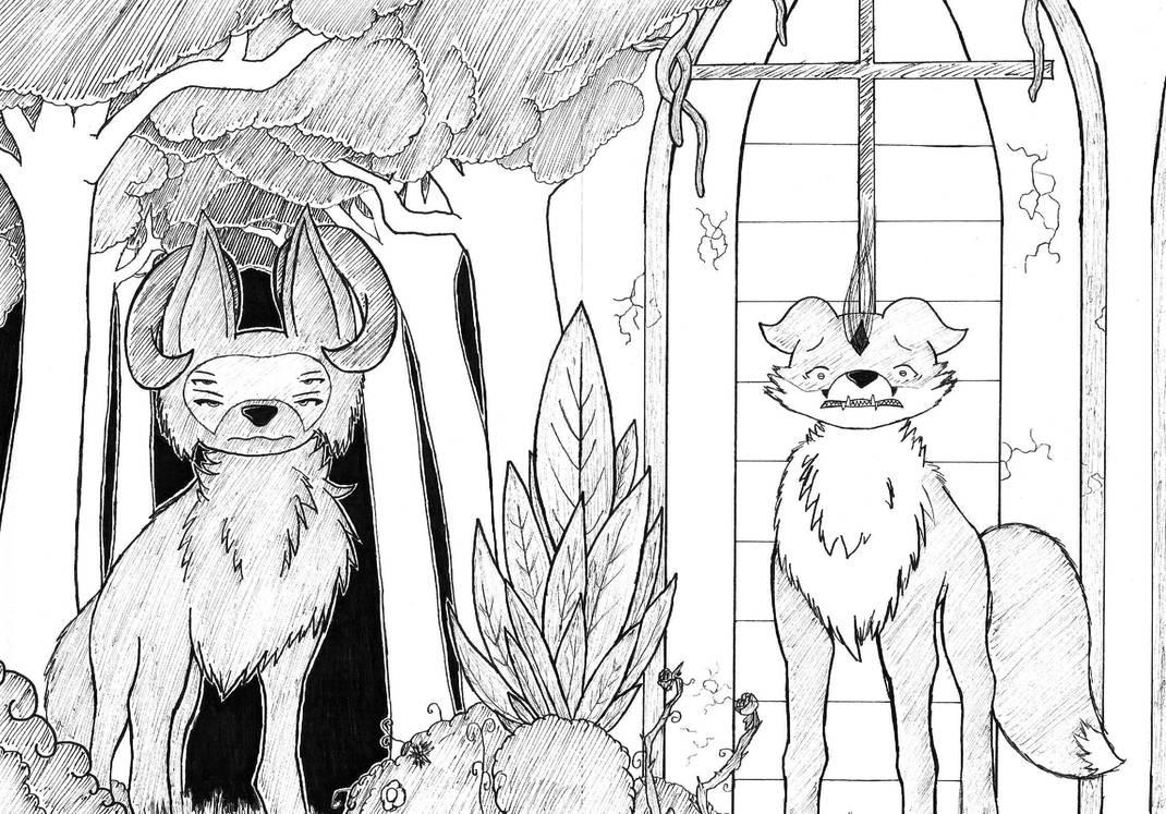 Between Trees and Windows by MrTheYoshiro