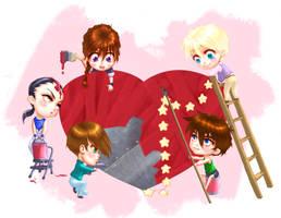 GW Love by SapphireGamgee