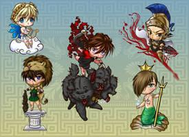 GW Goes Mythological by SapphireGamgee