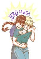 Thank You Hugs by SapphireGamgee