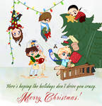 Crazy Christmas by SapphireGamgee