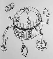 Sagathundus (Overseer Orb) by Thastygliax