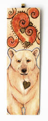 Kermode Bear Wall Plaque by BumbleBeeFairy