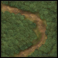 Forest Roads: Bend in the Road [Grid] by YoSpeck