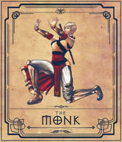 The Monk by DAZMAKER