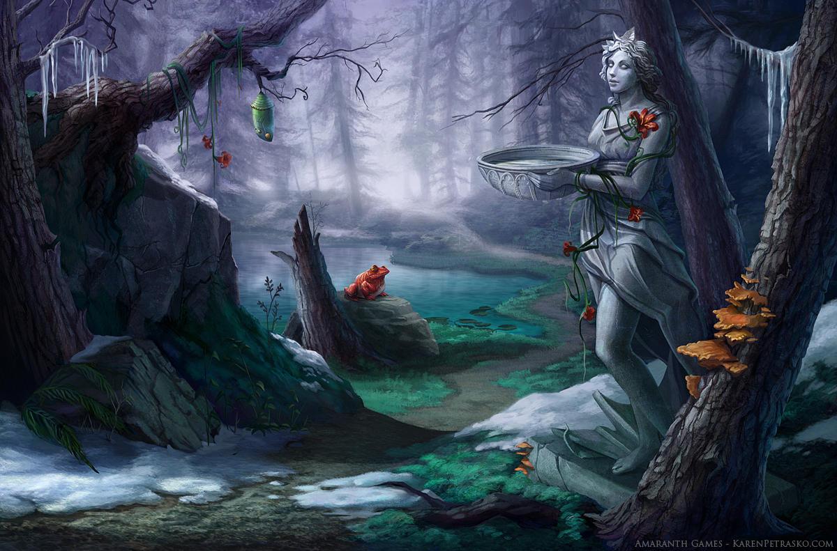 Forgotten Forest by KPetrasko