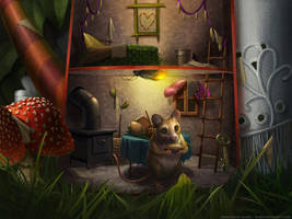 Mouse House by KPetrasko
