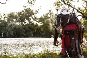Edward Kenway in the swamps by eyes1138