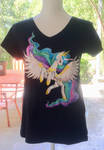 T-shirt Celestia by ColorSceemPainting