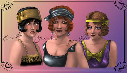 Flappers of Atlantech by MadrePappagallo