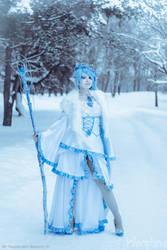 Winter Elf by Kleophina