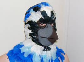 Long Bird Beak Prosthetic by sjgarg