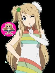 Tsumugi Kotobuki 'Fuwa Fuwa Time' Render by MayMugiLee