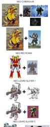 NEO GDF Faction (Ideas for Godzilla NEO) by marcdrac2