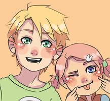 Shina and Hanami by Kirabook
