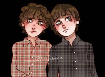 Stranger Twins by Kirabook