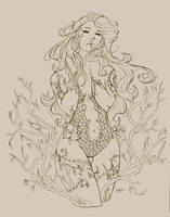 poison ivy pencils by Peng-Peng