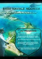 Affiche Base Navale Noumea by Bijou44