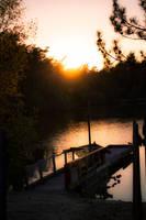 Sunset on Landing by Bijou44