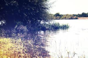 Peaceful river by Bijou44
