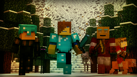 Minecraft : L'Age de Glace by Bijou44