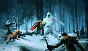 Bigfoot Hunt by gkn86