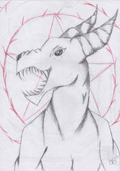Sebastian True Form by darkwolf10011